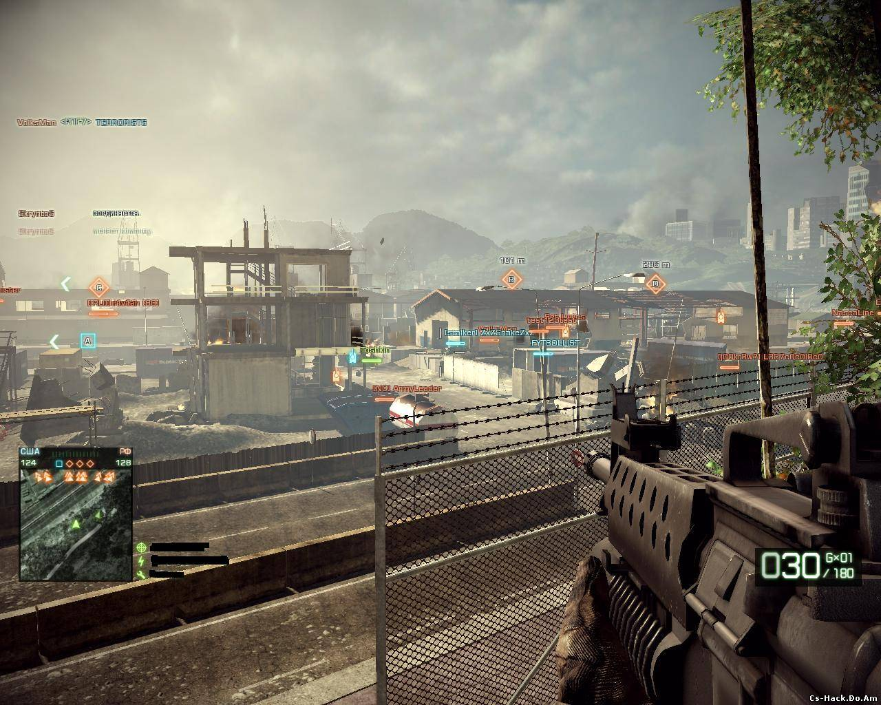 ESP хак Battlefield 2 (wh для BF 2)