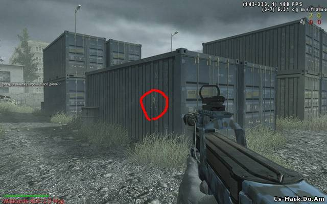 Wall Hack для Call of Duty2