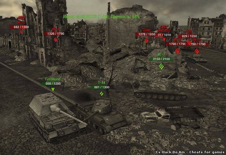 хп для world of tanks 0.7.2
